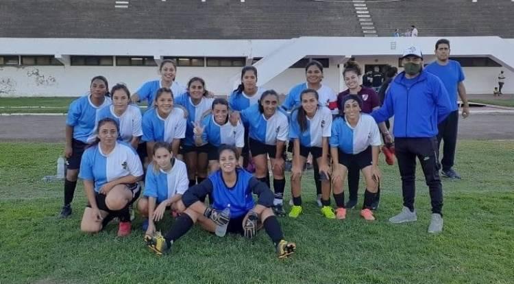 Puerto Belgrano Fútbol Club empató con Libertad el Fútbol Femenino de la Liga del Sur