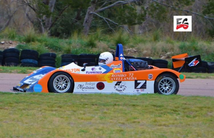 El Puntaltense Hernán Martínez tuvo una buena actuación en el Sport Prototipos