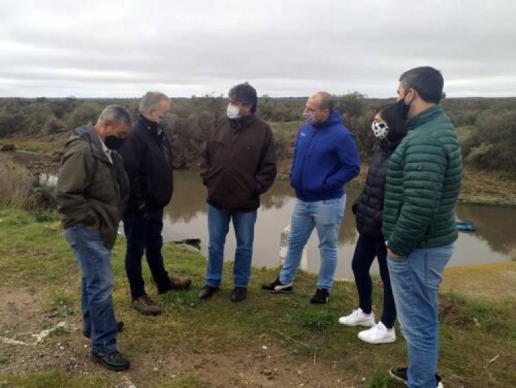 Se realizó relevamiento detallado del estado de los canales de evacuación de red pluvial